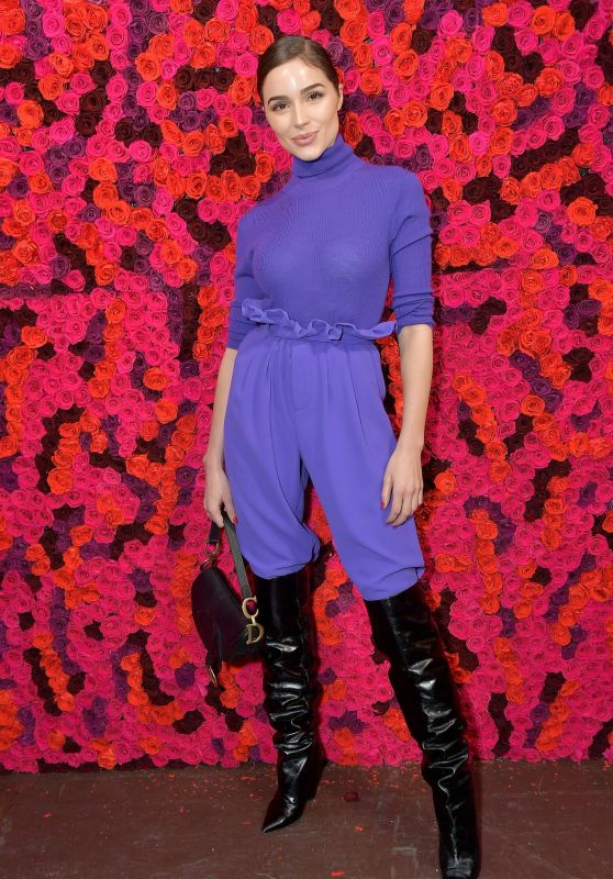 Olivia Culpo – Alice + Olivia Fashion Show in NYC 02/11/2019