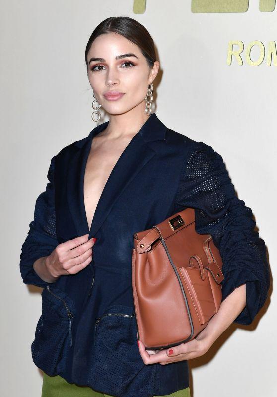 Olivia Culpo - Fendi Fashion Show in Milan 02/21/2019