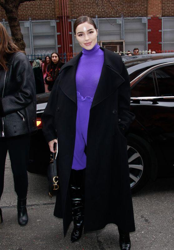 Olivia Culpo - Outside Alice + Olivia Fashion Show in NYC 02/11/2019