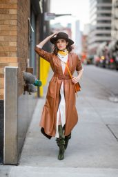 Olivia Culpo Street Fashion 02/13/2019