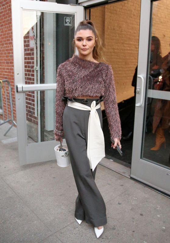 Olivia Jade - Arrivals at Jonathan Simkhai NYFW 2019