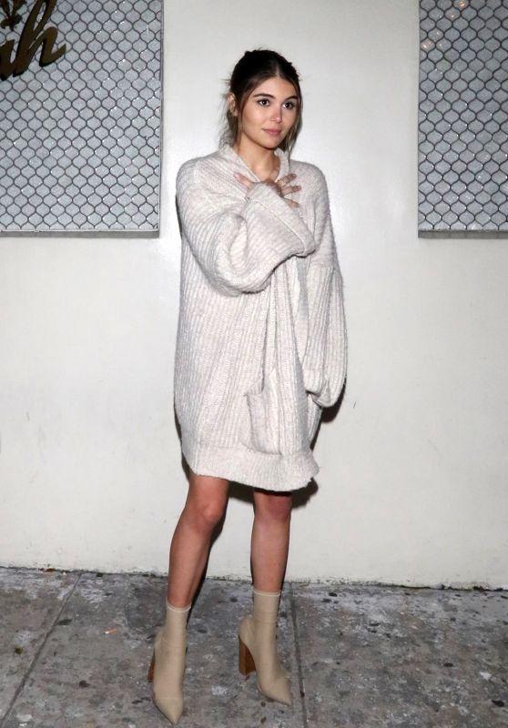 Olivia Jade Giannulli - Outside of Delilah Nightclub in West Hollywood 02/16/2019