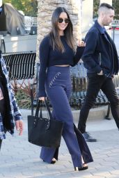 Olivia Munn - Films for Extra in Universal City 02/19/2019