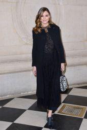 Olivia Palermo – Christian Dior Fashion Show in Paris 02/26/2019