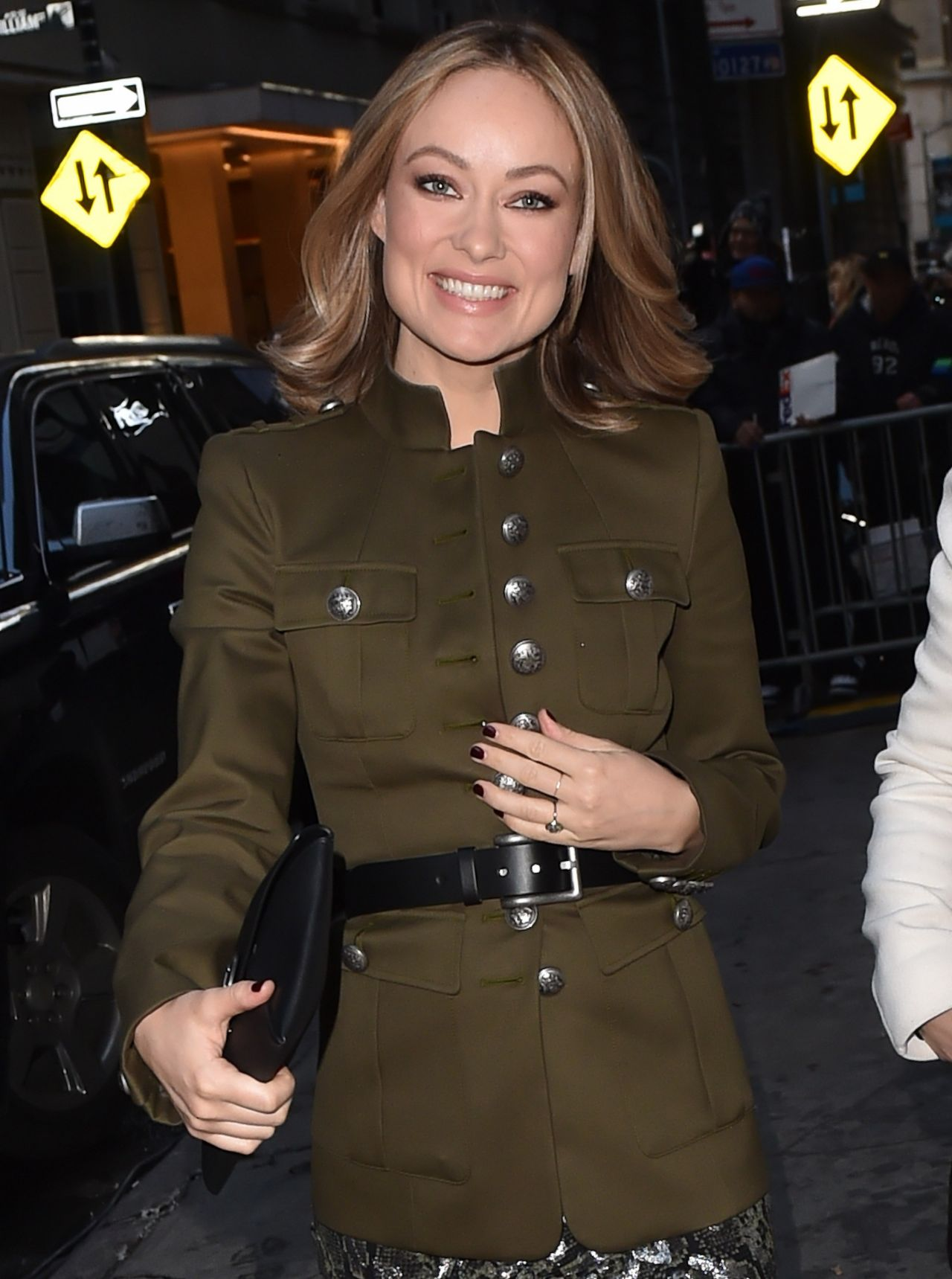 Olivia Wilde Michael Kors Fashion Show In New York City