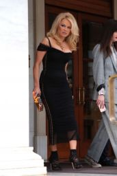 Pamela Anderson - Out in Athens 02/25/2019