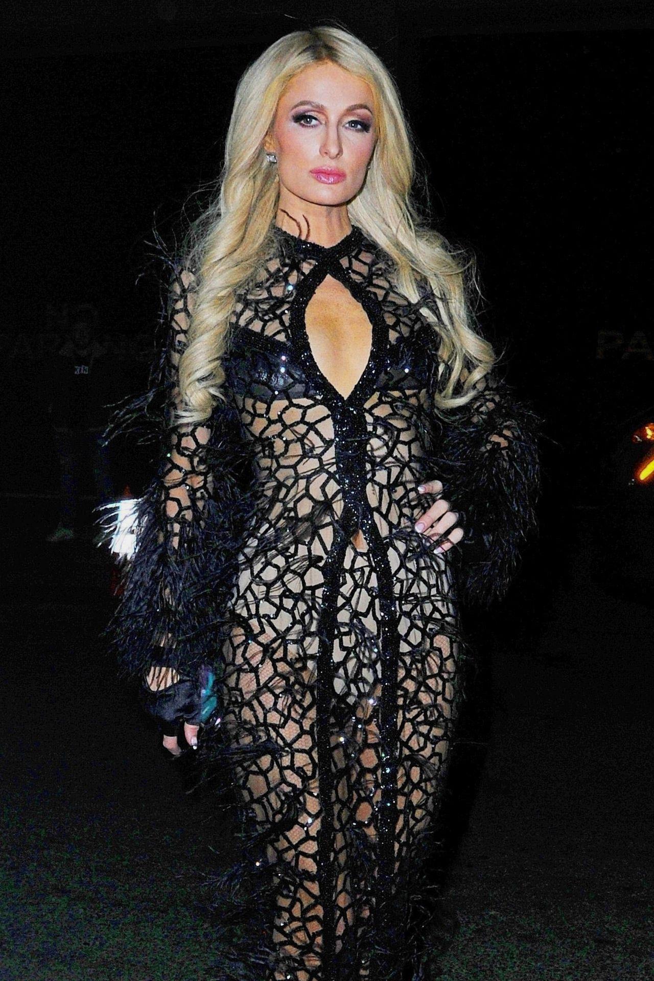 0ccec8b2ca Paris Hilton - Philipp Plein Fashion Show in NYC 02/11/2019