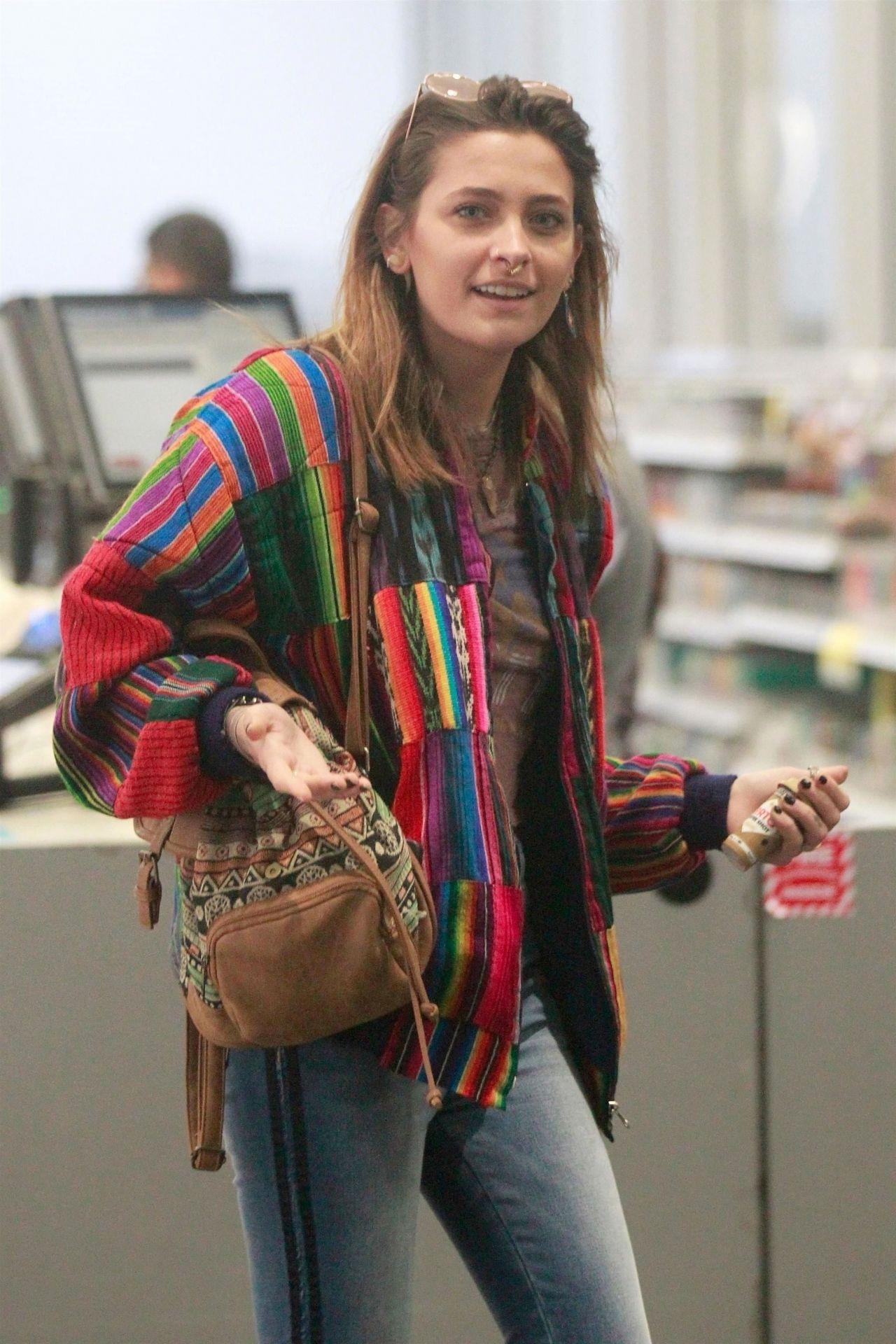 Paris Jackson at Walgreens in Hollywood 01/30/2019 Emmy Rossum