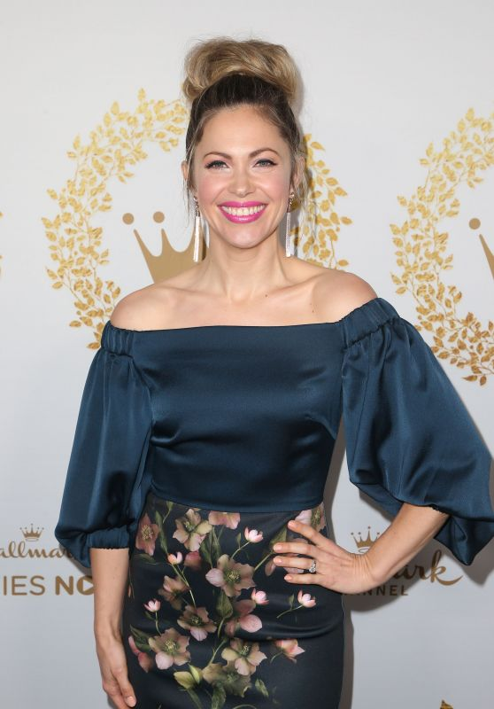 Pascale Hutton – 2019 Hallmark Channel Winter TCA Press Tour Party