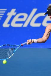 Pauline Parmentier - 2019 WTA Mexican Open Tennis Tournament in Acapulco 02/26/2019
