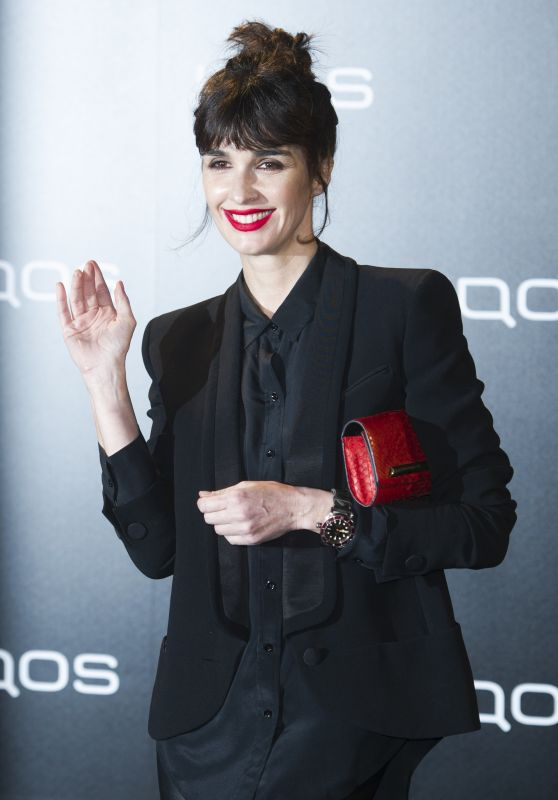 Paz Vega at e-Cigarette Presentation IQOS 3 in Madrid