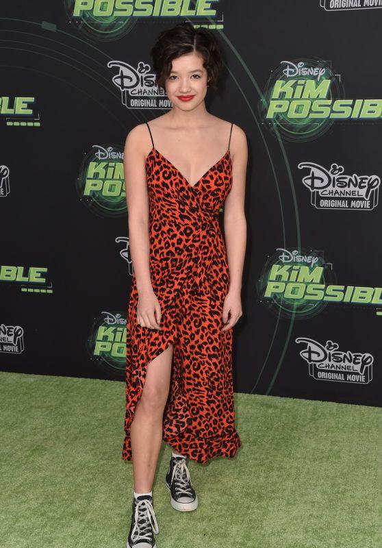 "Peyton Elizabeth Lee – ""Kim Possible"" Premiere in LA"