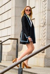 Peyton List – Caroline Herrera Fashion Show in NYC 02/11/2019