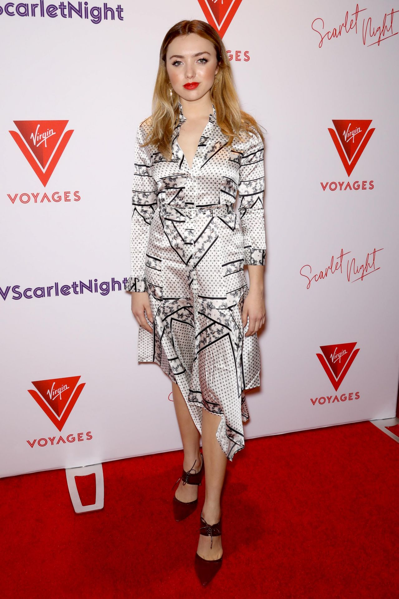 Peyton List Scarlet Night Party In Nyc 02 14 2019