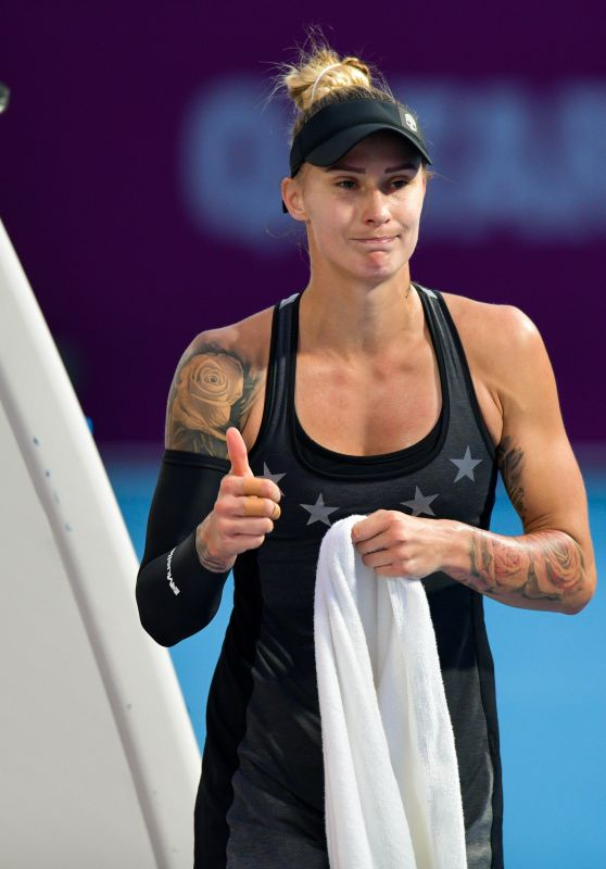 Polona Hercog - Qualifying for 2019 WTA Qatar Open in Doha 02/10/2019