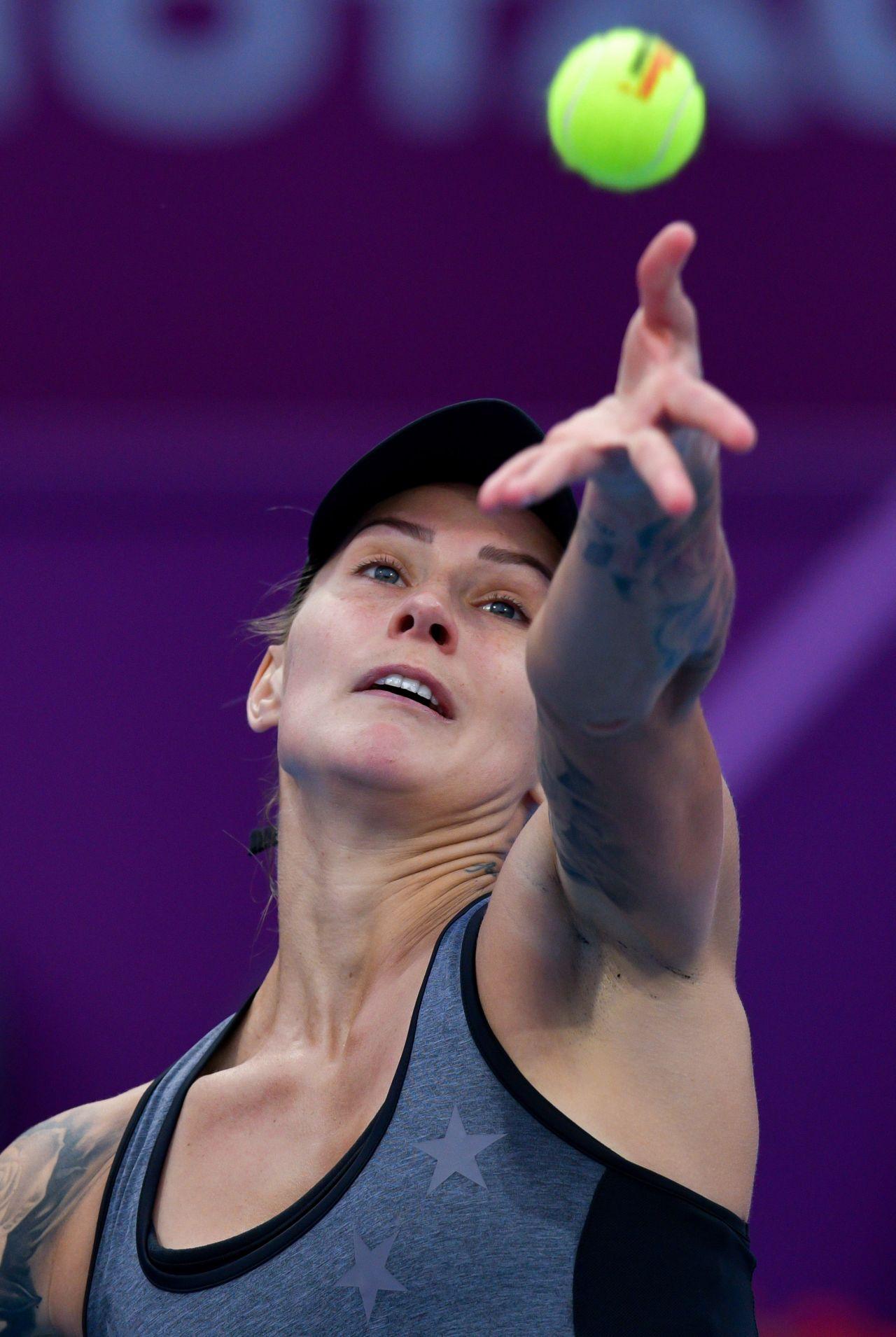 Polona Hercog – Qualifying for 2019 WTA Qatar Open in Doha ...