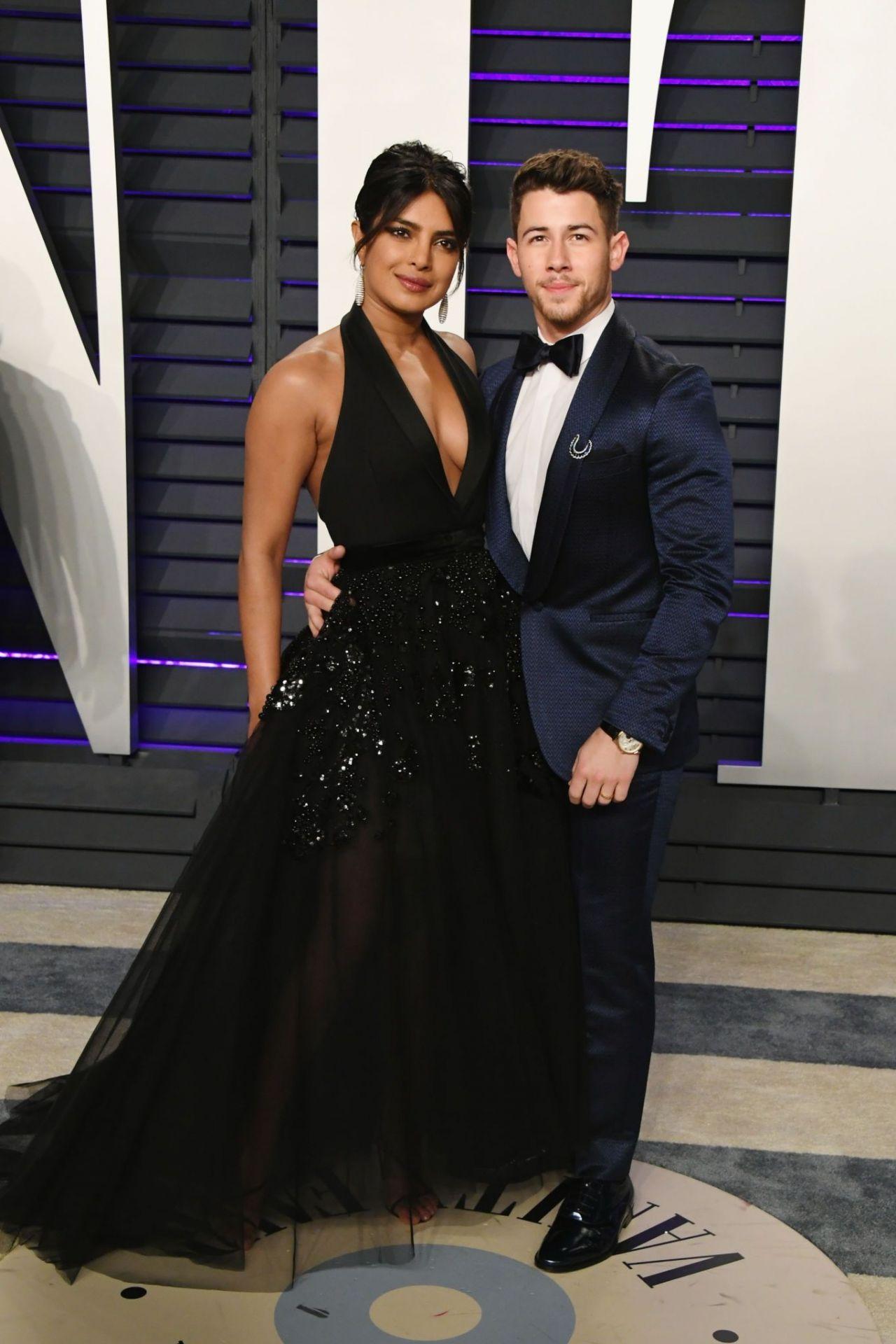 Priyanka Chopra 2019 Vanity Fair Oscar Party