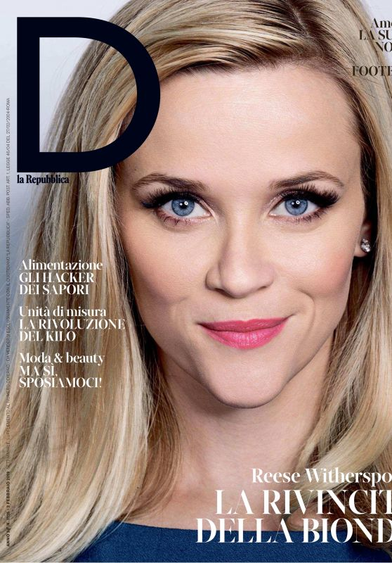 Reese Witherspoon - D la Repubblica 02/01/2019