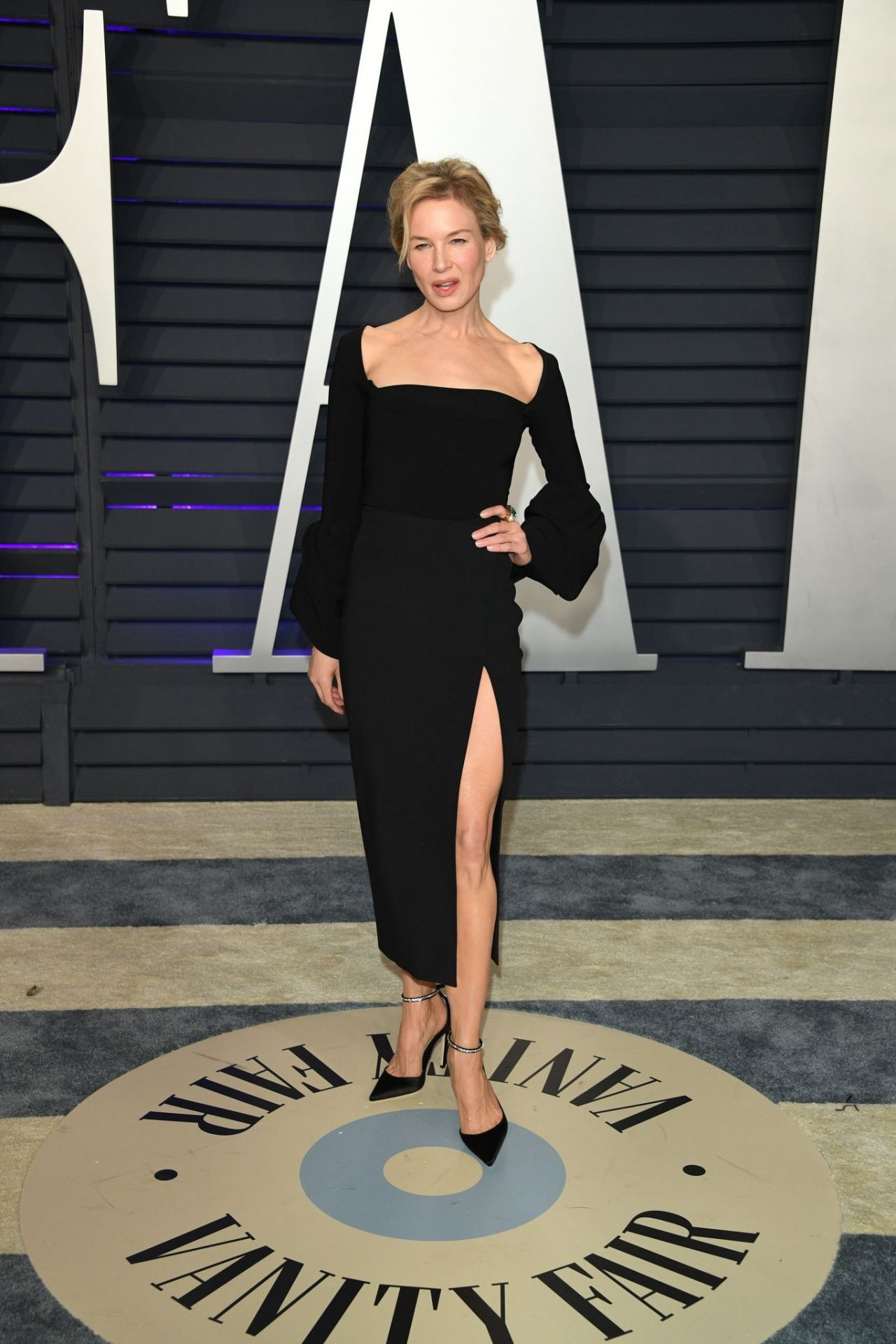 Renee Zellweger 2019 Vanity Fair Oscar Party