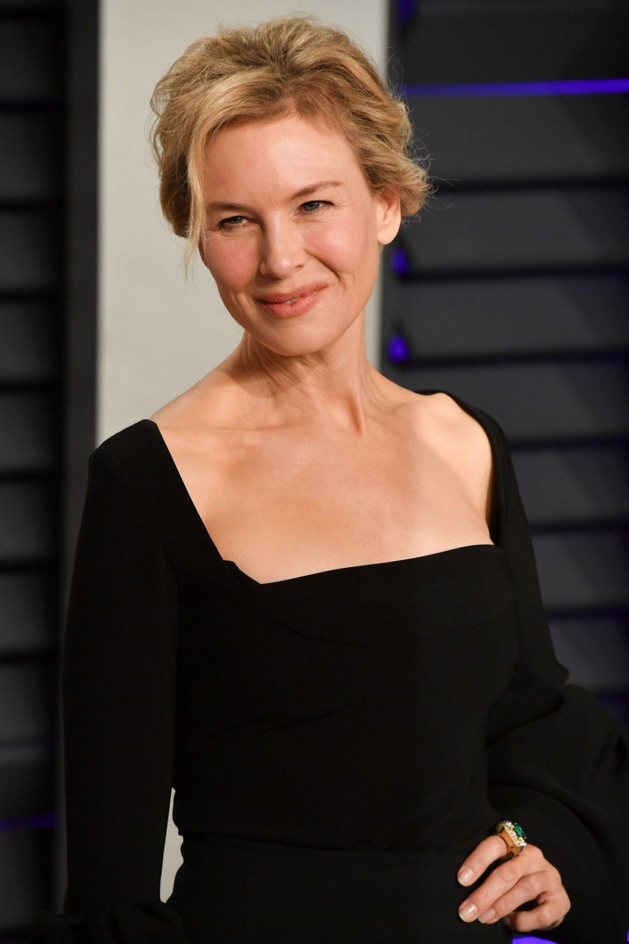 Renee Zellweger 2019 Vanity Fair Oscar Party