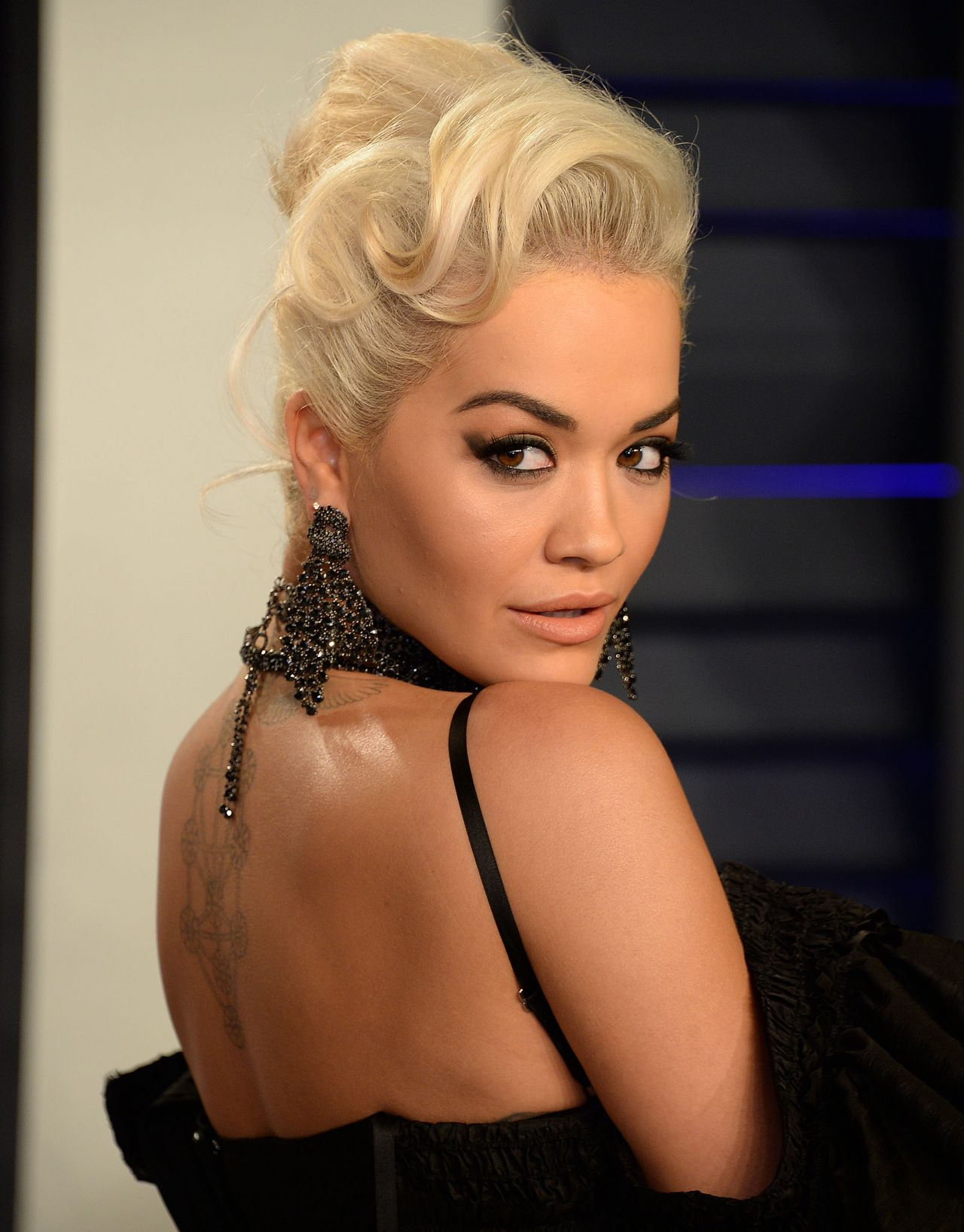 Image result for Rita Ora oscar after party 2019""