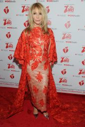 Rosanna Arquette – Go Red For Women Red Dress Collection 2019 in NYC