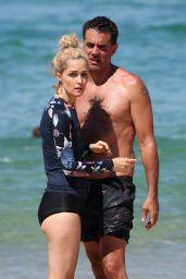 Rose Byrne and Husband Bobby Cannavale at Bondi Beach 02/07/2019