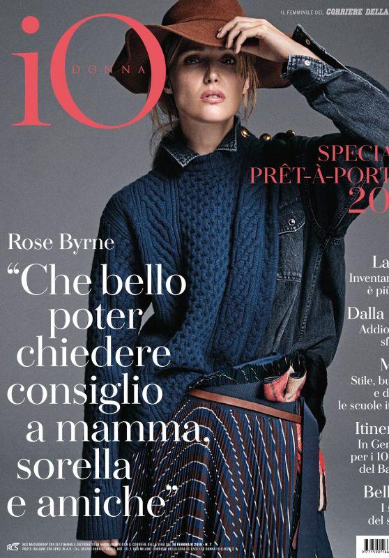 Rose Byrne - Io Donna del Corriere della Sera 02/16/2019