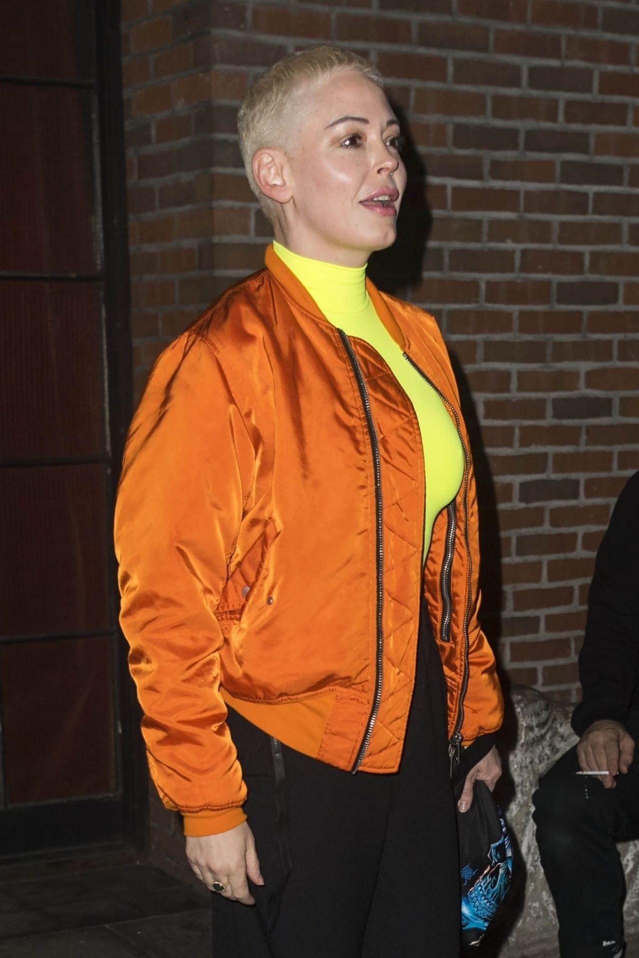 Rose Mcgowan Outside The Bowery Hotel 02 05 2019