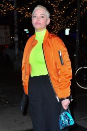 Rose McGowan - Outside The Bowery Hotel 02/05/2019