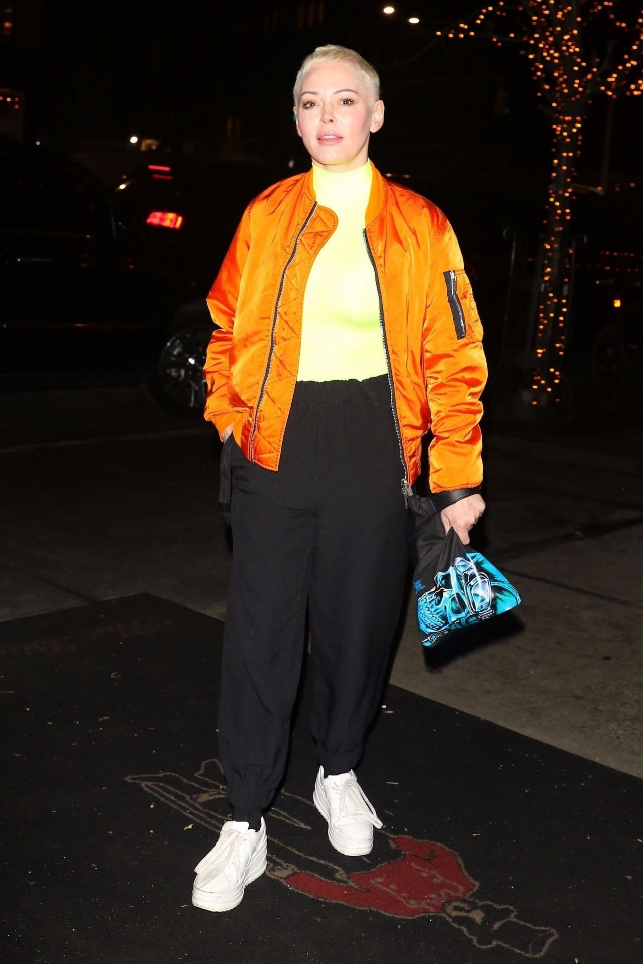 Rose Mcgowan Outside The Bowery Hotel 02 05 2019