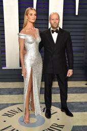 Rosie Huntington-Whiteley and Jason Statham – 2019 Vanity Fair Oscar Party