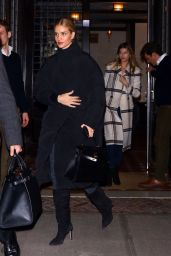 Rosie Huntington-Whiteley - Leaving the Greenwich Hotel in NY 02/08/2019