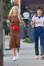 Rowan Blanchard in Casual Outfit - Silverlake 02/26/2019