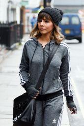 Roxanne Pallett in Adidas Tracksuit 01/28/2019