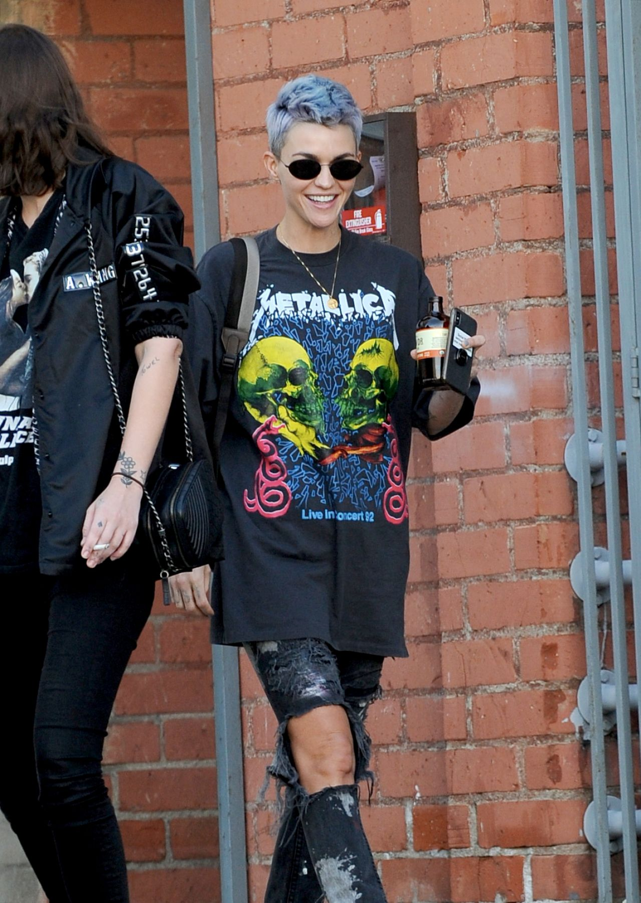 Ruby Rose Shows Off A New Color Hairdo 01 31 2019