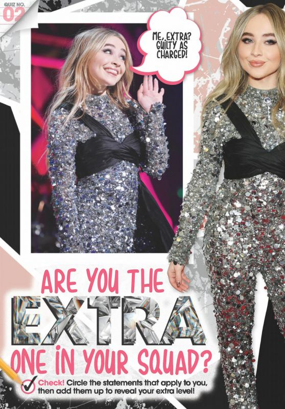 Sabrina Carpenter - QuizFest Magazine May 2019 Issue