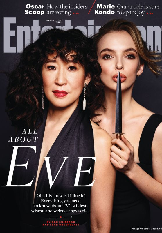 Sandra Oh & Jodie Comer - Entertainment Weekly Magazine March 2019 Issue