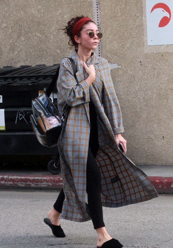 Sarah Hyland - Out in LA 02/20/2019