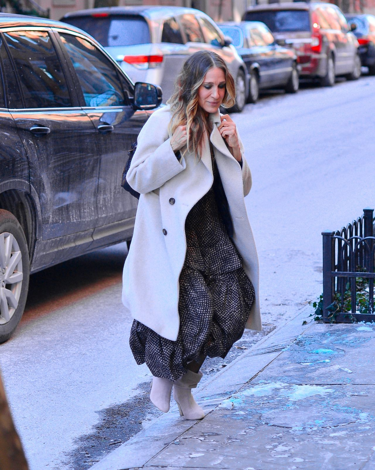 Sarah Jessica Parker? Love the look, Girl. Except | Tom