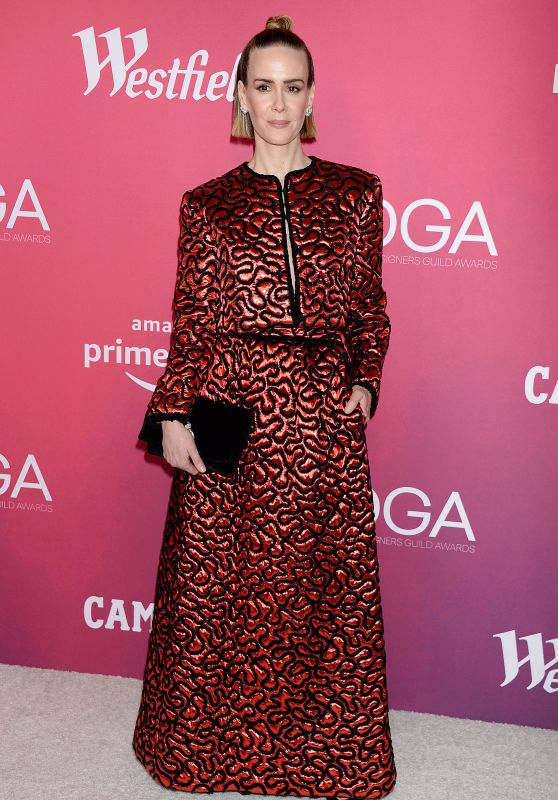 Sarah Paulson – 2019 Costume Designers Guild Awards