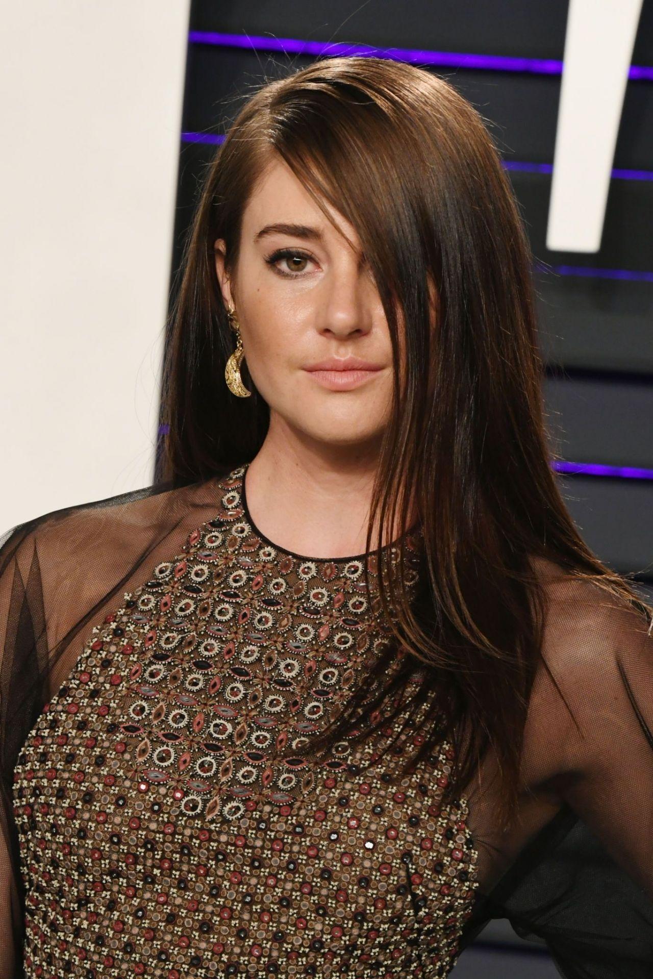 Shailene Woodley 2019 Vanity Fair Oscar Party