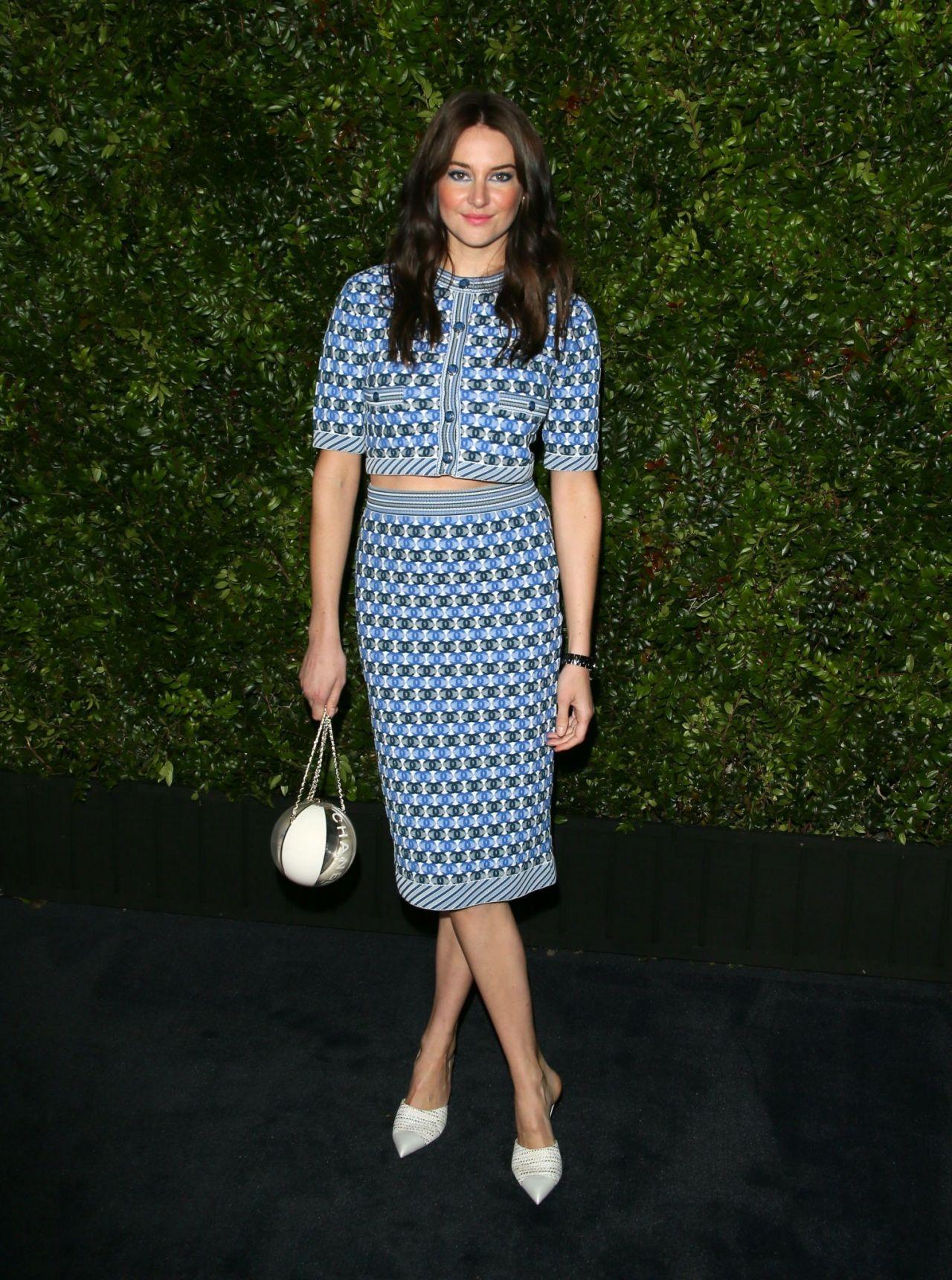 Shailene Woodley Charles Finch Amp Chanel Pre Oscar Awards