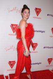 Shailene Woodley - Virgin Voyages Scarlet Night Party in NYC 02/14/2019