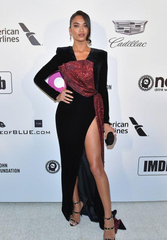 Shanina Shaik – 2019 Elton John's Oscars Viewing Party