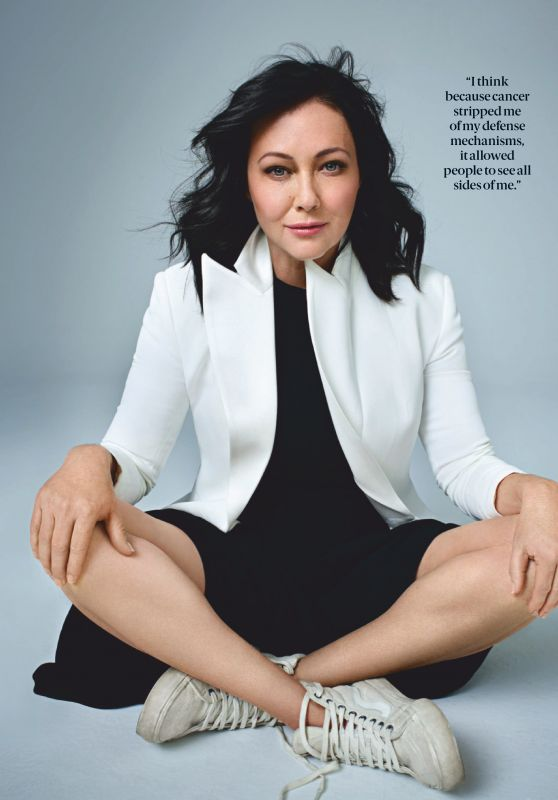 Shannen Doherty - Health Magazine March 2019 Issue