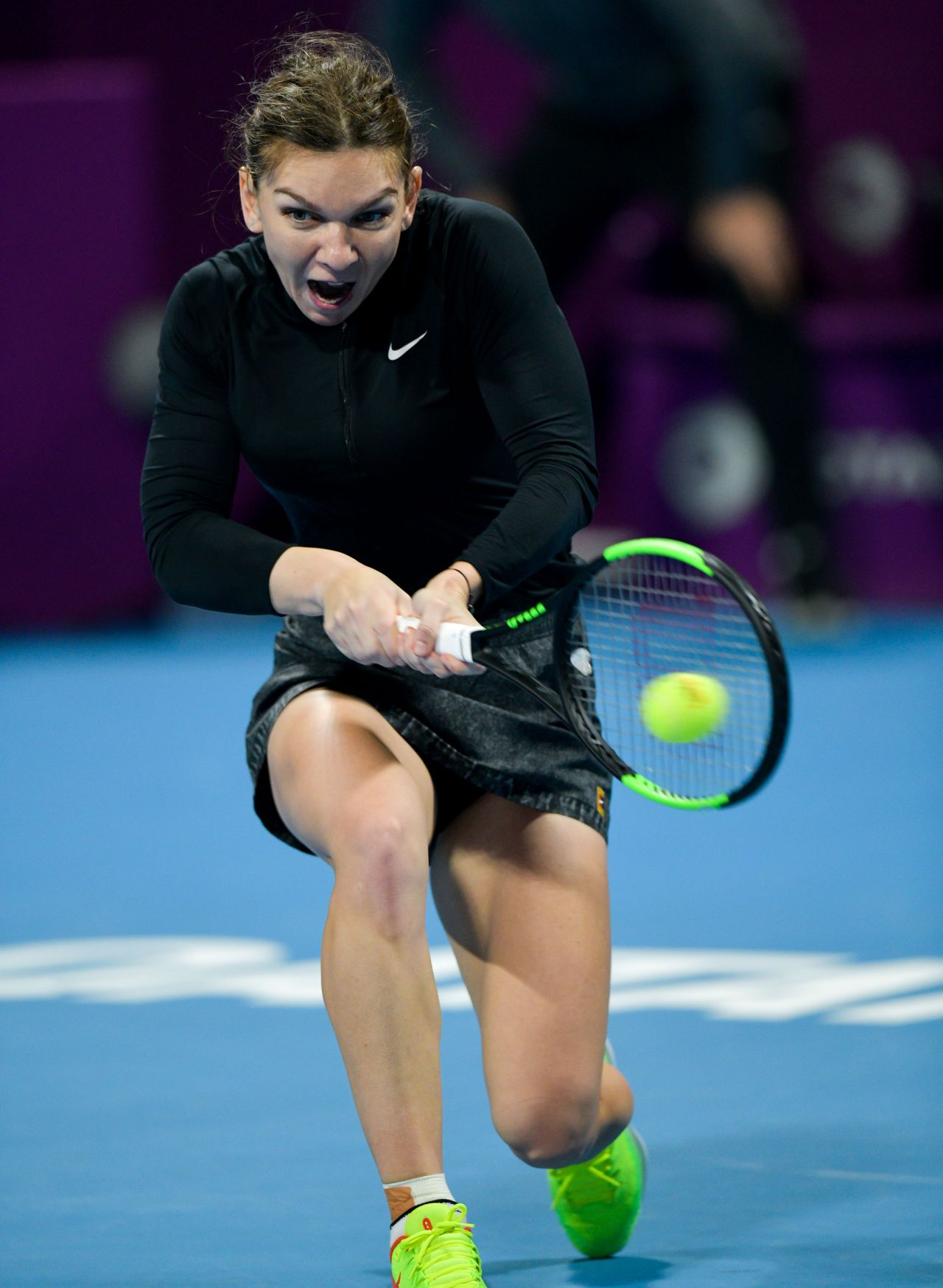 Simona Halep – 2019 WTA Qatar Open in Doha 02/14/2019 ...