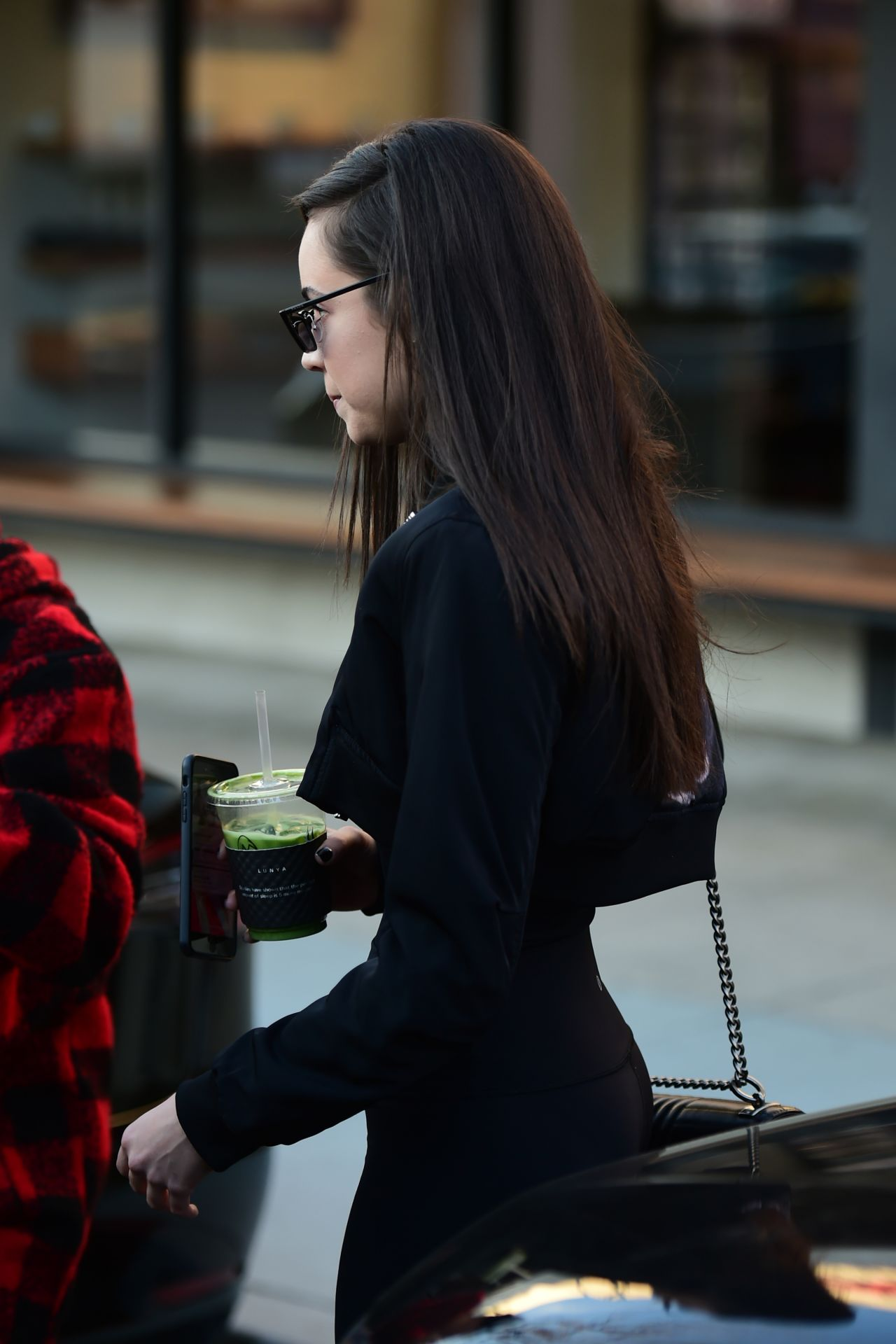Sofia Carson Goes To Alfred Coffee In Los Angeles 02 08 2019