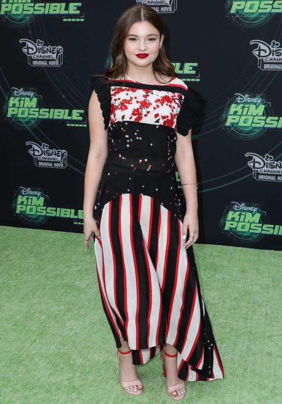 """Sophie Pollono – """"Kim Possible"""" Premiere in LA"""