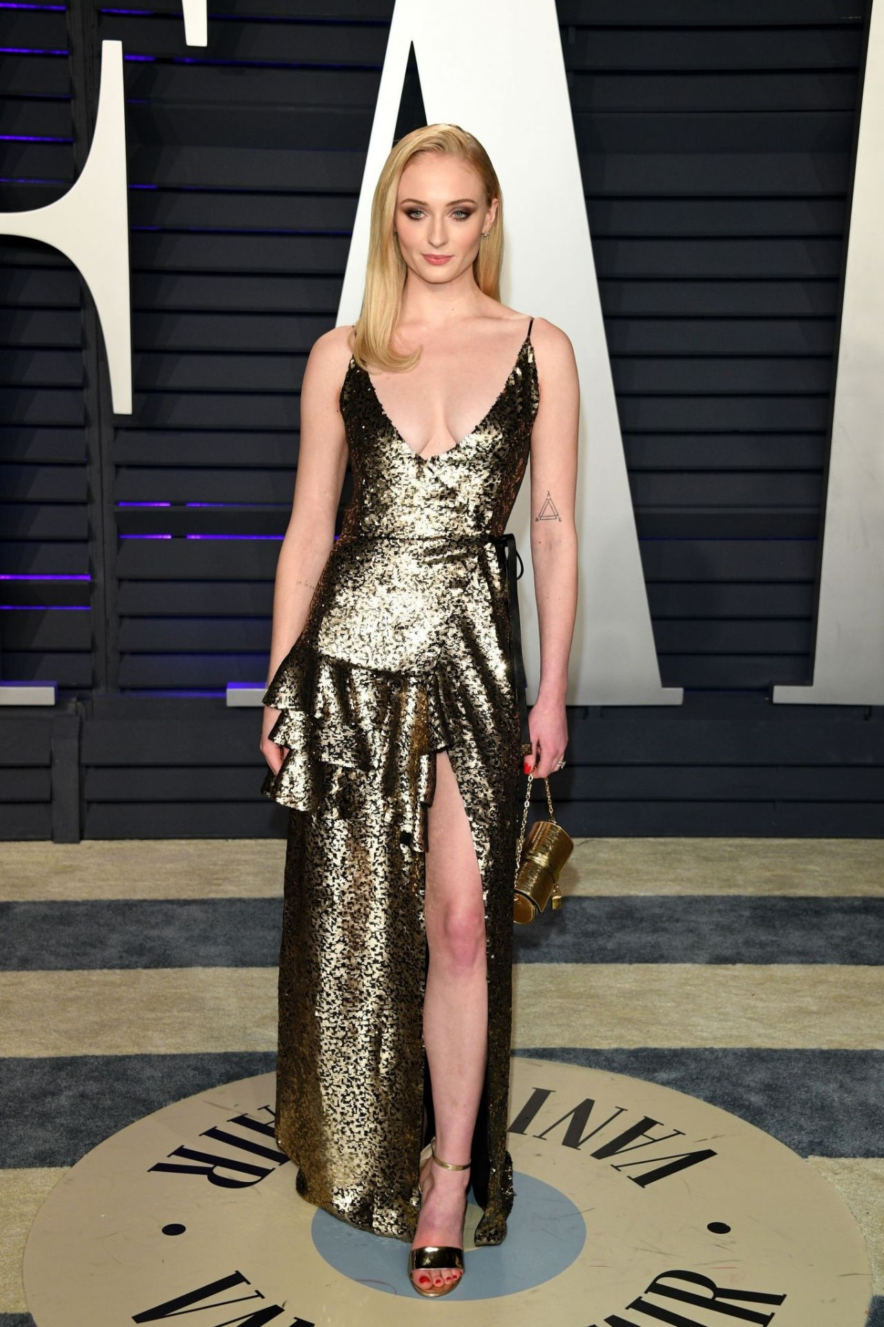 Sophie Turner 2019 Vanity Fair Oscar Party